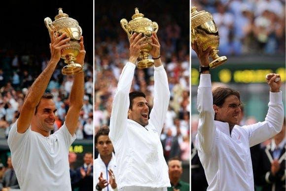 Federer confiesa qué pensó de Nadal y Djokovic cuando comenzaron a competir