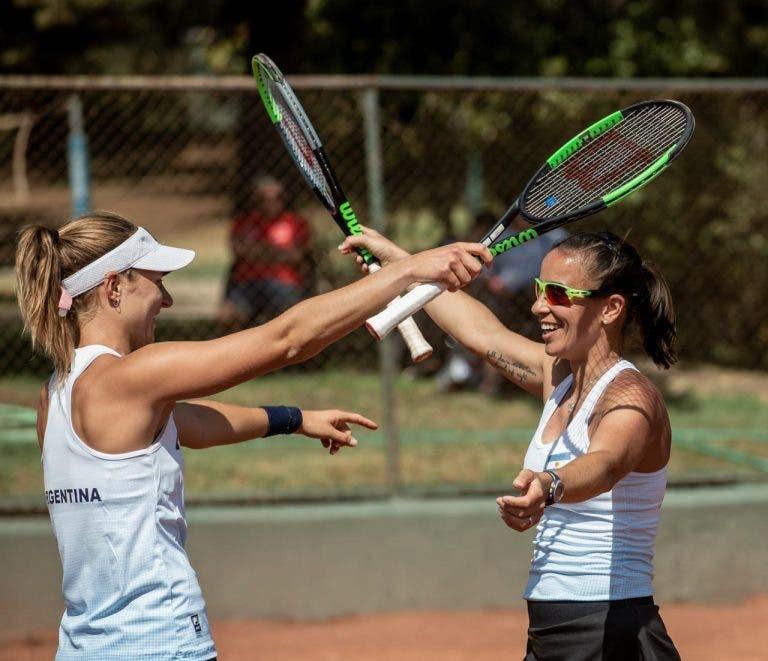 Nadia Podoroska y Paula Ormaechea hablan del difícil triunfo argentino en la Fed Cup