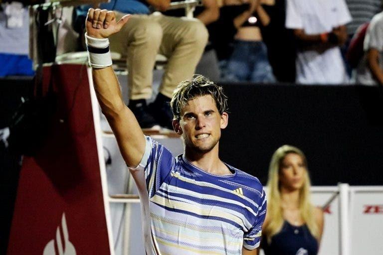Dominic Thiem está a una victoria de pasar a Federer en el ranking