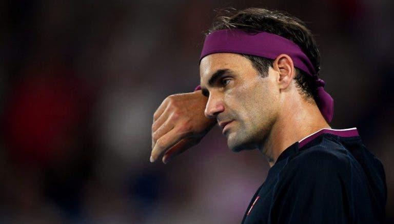 Federer va a jugar en tierra batida solo en Roland Garros