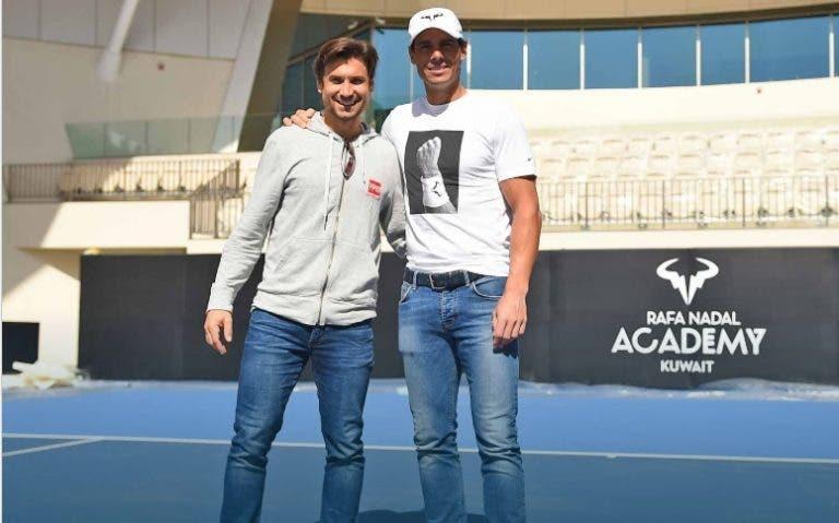 David Ferrer sobre Rafa Nadal: «Aguanta la presión mejor que otros»