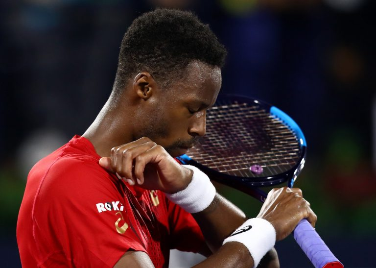 [VIDEO] Gael Monfils y una enorme defensa en Dubai