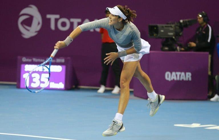 Muguruza arrasa y está dentro del top 8 del WTA de Doha
