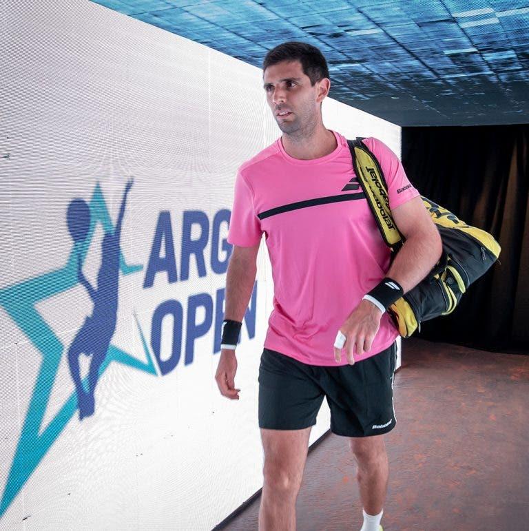 Fede Delbonis se recupera y elimina a Hugo Dellien en el Argentina Open
