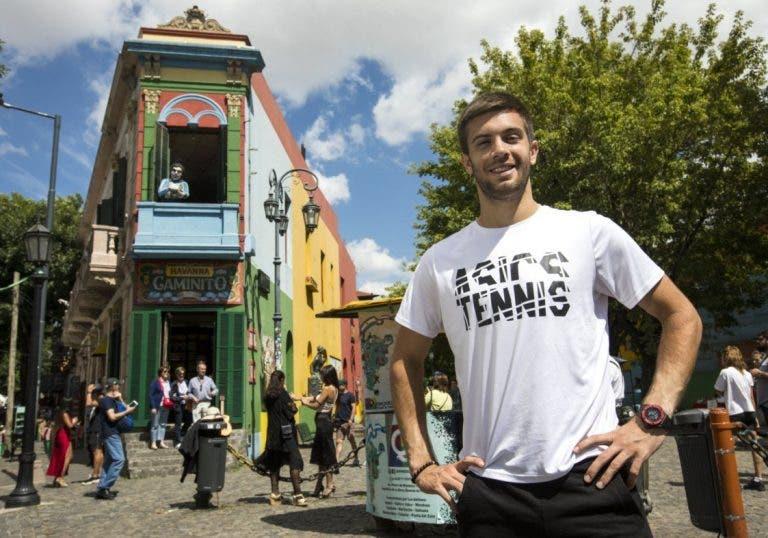 Con el debut de Borna Coric, así se jugará el día 5 del Argentina Open