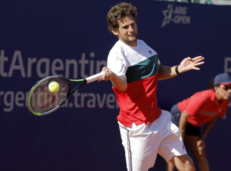 Pedro Sousa, la grata sorpresa del Argentina Open