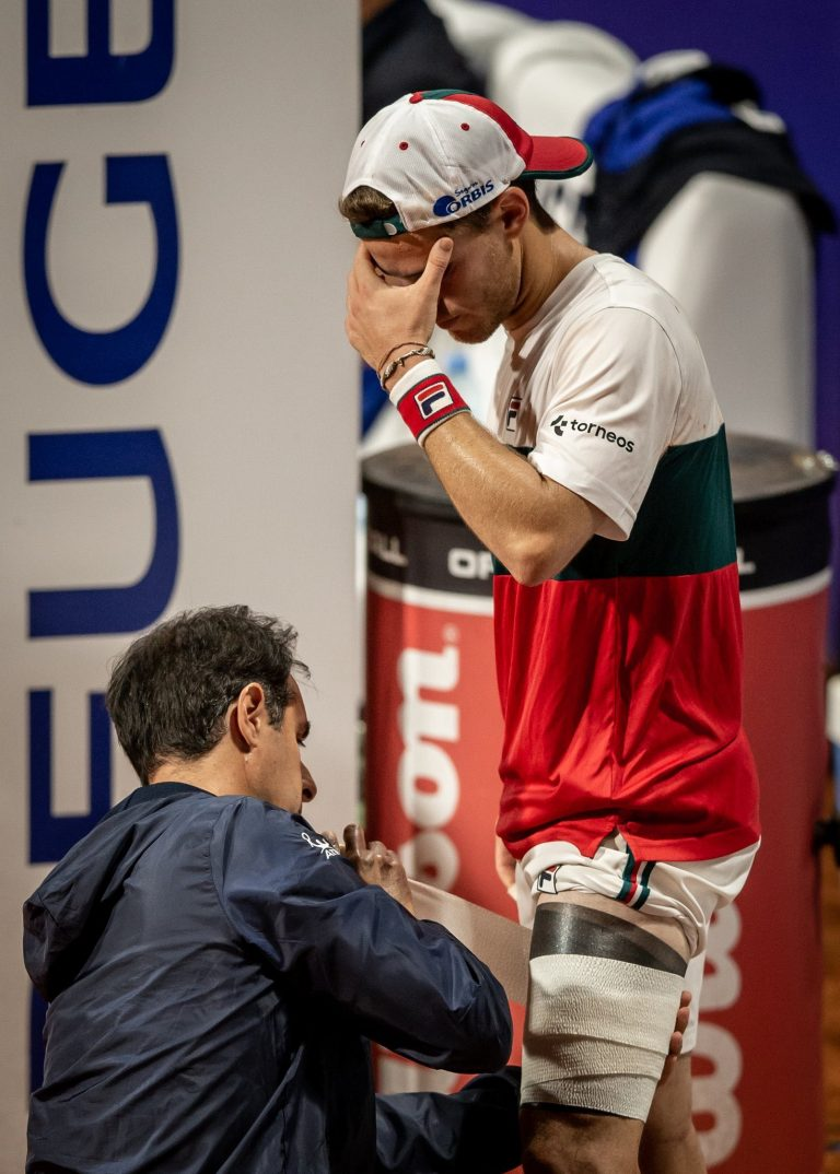 ÚLTIMO MOMENTO: Diego Schwartzman se retira del Argentina Open