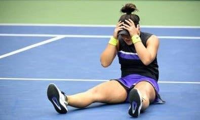 El mal momento de Bianca Andreescu