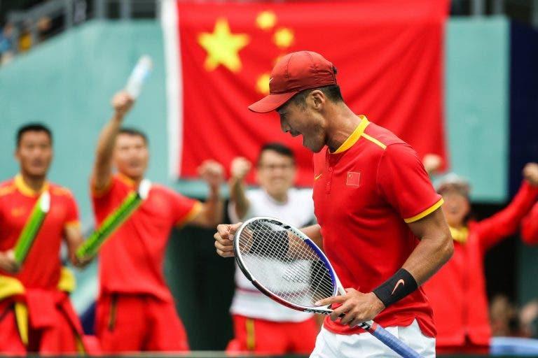 China declina su participación en Copa Davis por el Coronavirus