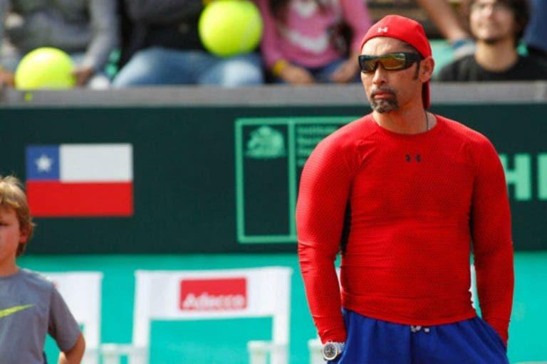 Dura acusación del Chino Ríos contra el presidente de la Federación Chilena de Tenis