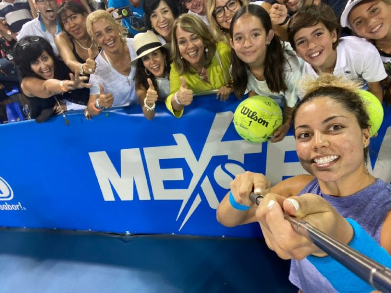 Renata Zarazúa vuelve a ganar en el WTA de Acapulco