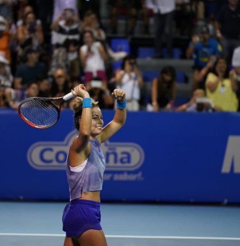 Renata Zarazúa gana y hace historia en el WTA de Acapulco