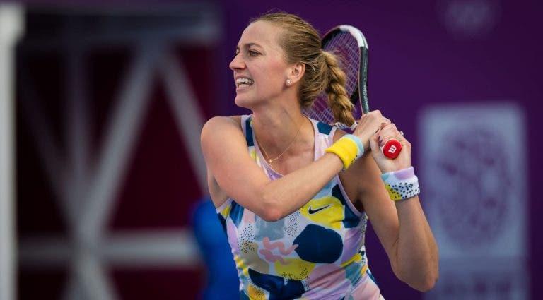 Kvitova vence a Ons Jabeur y está en las semifinales en Doha