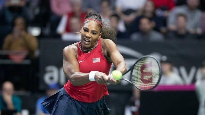 Serena Williams dice que aún tiene que mejorar varias cosas de su tenis