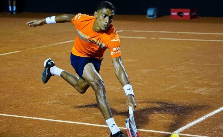 Thiago Monteiro dice estar feliz por continuar en su torneo favorito