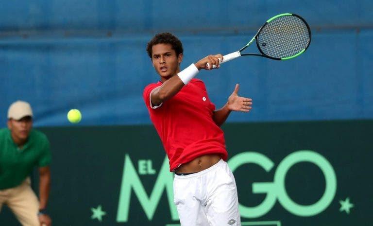 Juan Pablo Varillas y la felicidad por su primer triunfo ATP