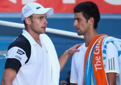 Andy Roddick recuerda el día que casi golpea a Novak Djokovic