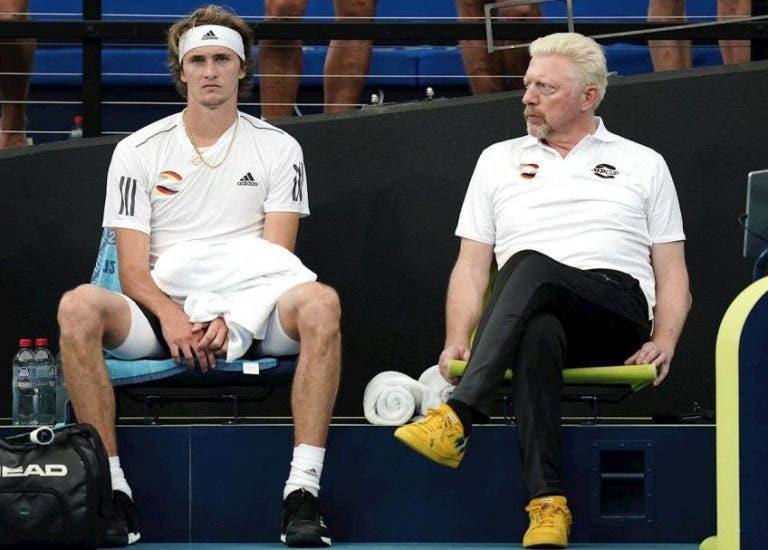 Boris Becker insta a Alexander Zverev a no dormirse