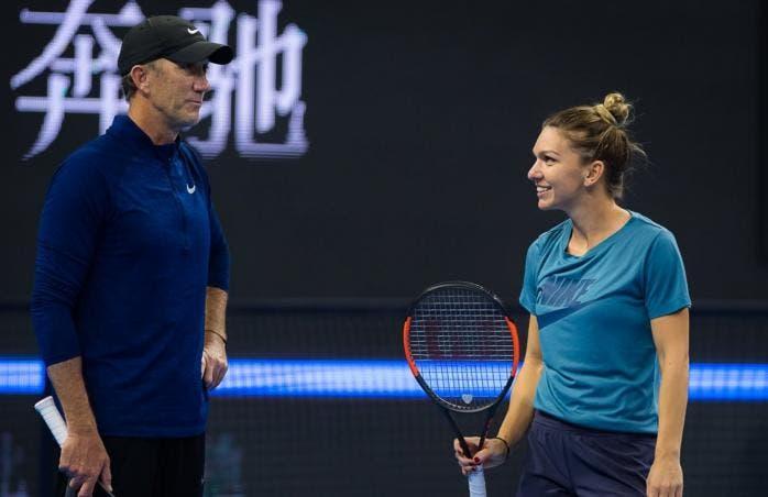 Entrenador de Simona Halep apuesta por la evolución del tenis