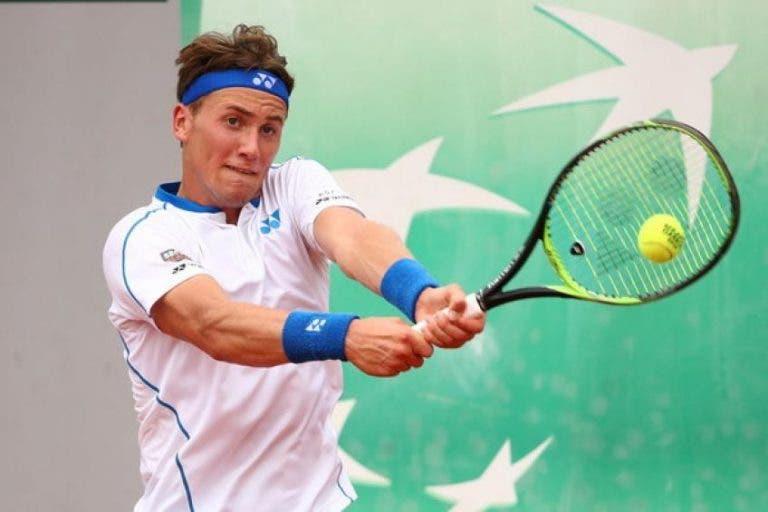 Casper Ruud: el primer finalista del ATP 250 de Santiago