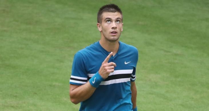 Borna Coric dice que haberle ganado a Federer en hierba fue mágico