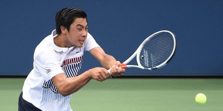 Next Gen Brandon Nakashima sorprende en su debut en el ATP 250 de Delray Beach