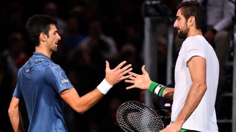 Djokovic se une a Cilic para jugar dobles en Dubái