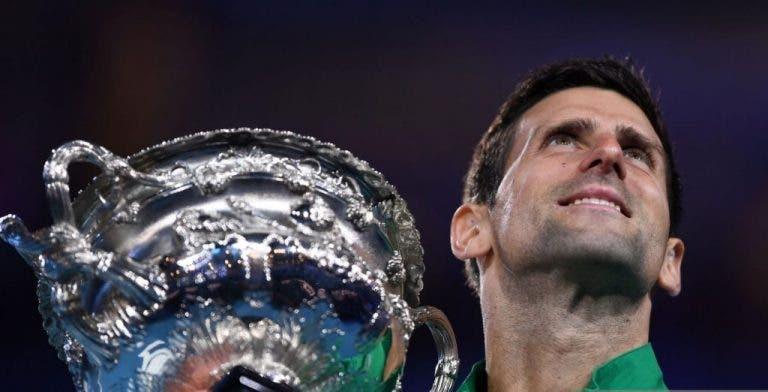 Djokovic se acerca al récord de Grand Slams de Federer