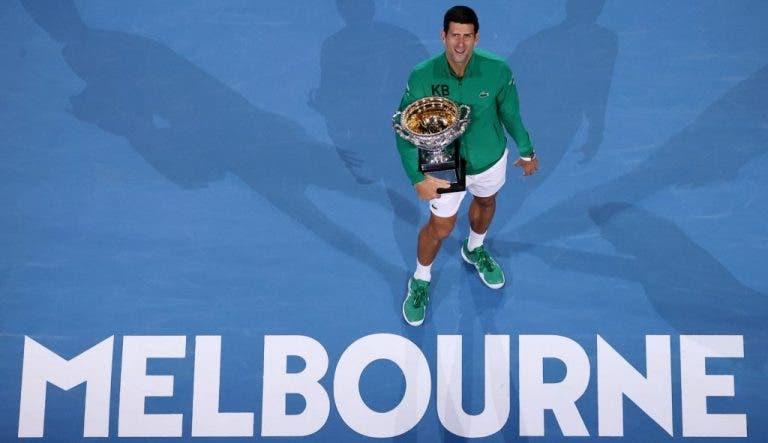Djokovic y el museo que reúne todos los trofeos que ha ganado