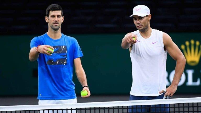 Nadal y Djokovic jugarán dobles en Indian Wells en una lista de lujo