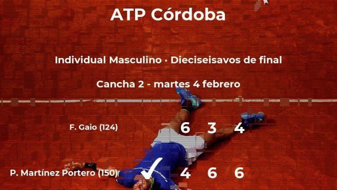 Andrej Martin y Pedro Martínez Portero siguen en el Córdoba Open