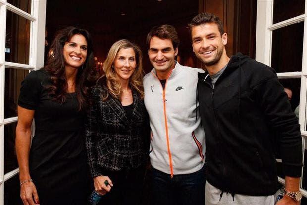 Gabriela Sabatini y su encuentro con Roger Federer por las calles suizas