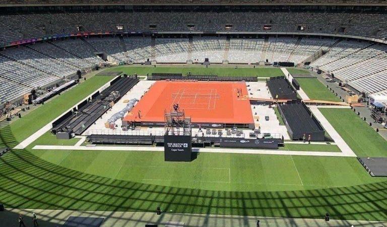 Vea el increíble estadio donde Federer y Nadal entrarán al Guinness