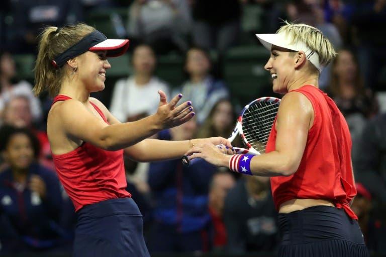 Estados Unidos lo logra y está en la Fed Cup Finals en Budapest