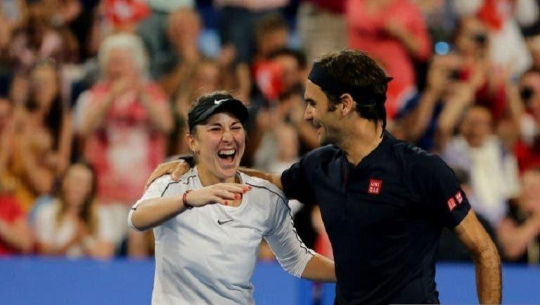 Bencic quiere jugar dobles mixtos con Federer en los Juegos Olímpicos