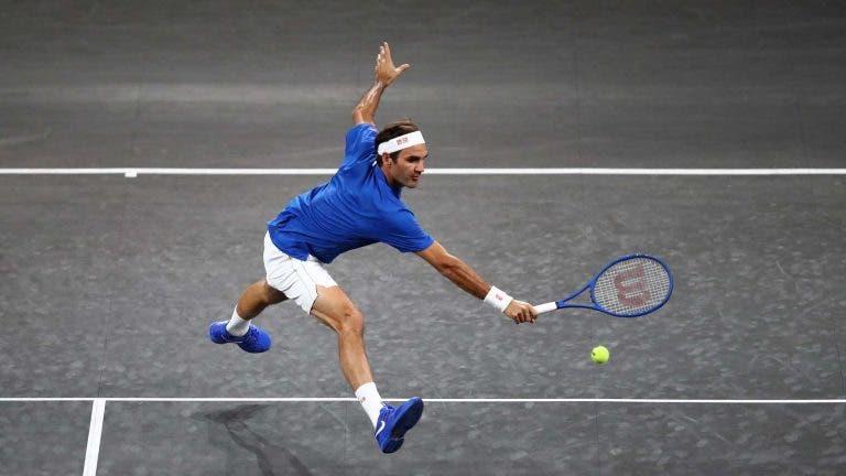 Roger Federer anunciado en la cuarta edición de la Laver Cup