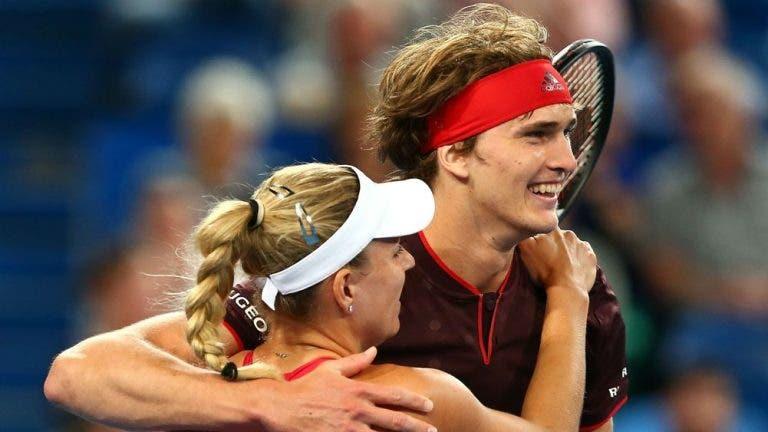 Zverev y Kerber jugarán juntos en dobles mixtos en los Juegos Olímpicos