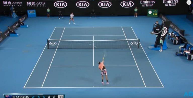 [VIDEO] Todos los Aces de Nick Kyrgios durante el Open de Australia