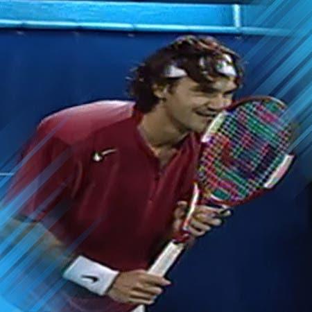 Roger Federer recuerda su punto más increíble en Dubai
