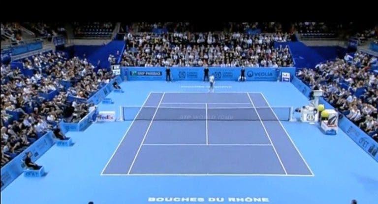 Resultados de la jornada de este lunes del ATP 250 de Marsella
