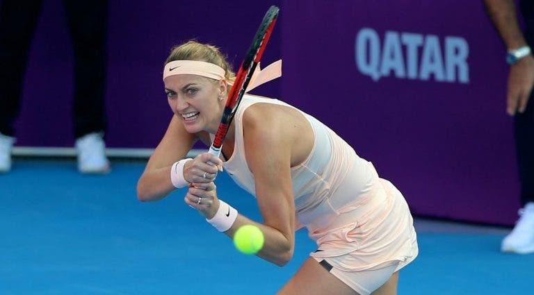Kvitova vence a Barty y está en la final del WTA Premier de Doha