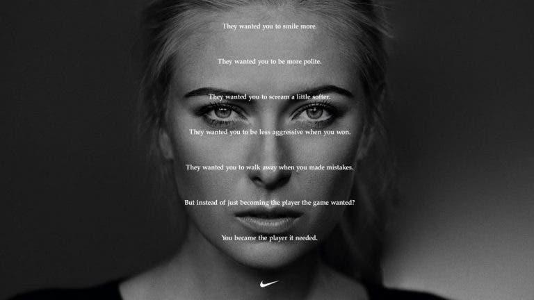 Increíble tributo de Nike a Sharapova que se ha extendido por todo Estados Unidos