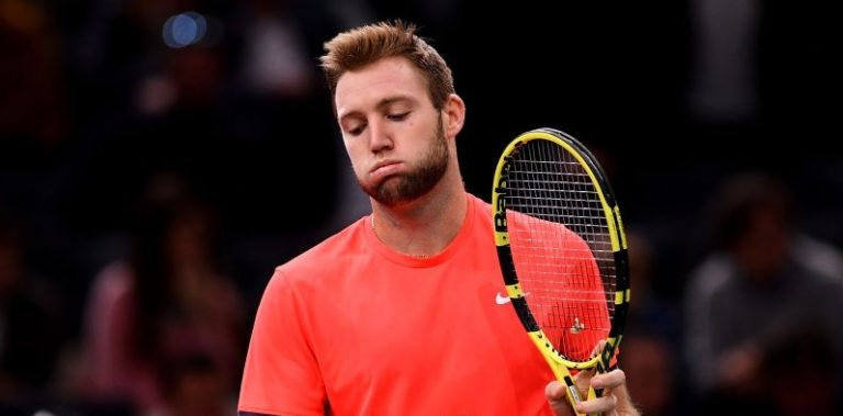 Jack Sock, ahora sin ranking, vuelve al tenis este lunes