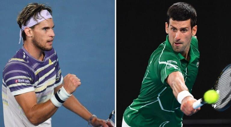 La final del Open de Australia generará cambios en el ranking ATP