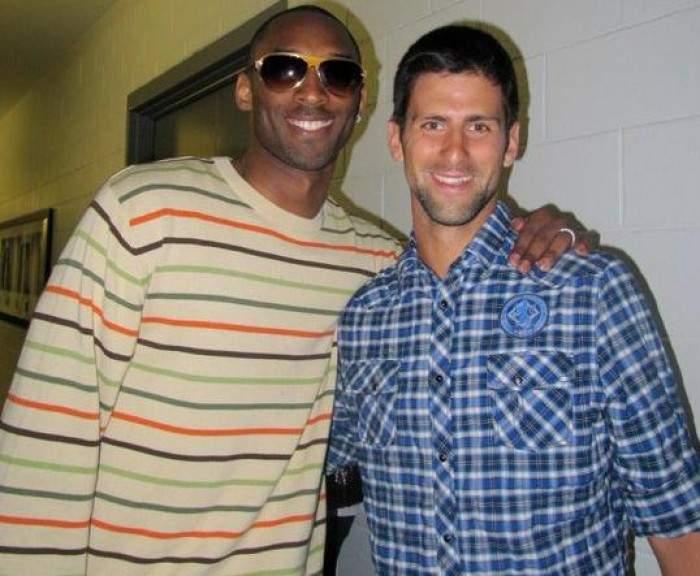Djokovic habla de la ayuda que le dio Kobe Bryant