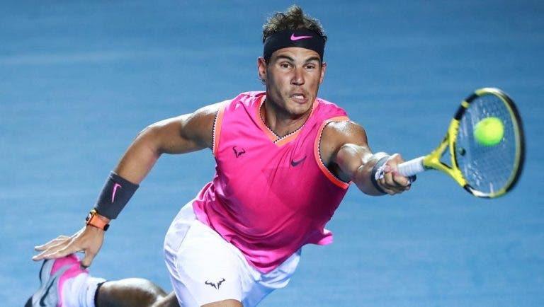 Rafa Nadal: «Estoy muy contento. El título viene bien luego de un comienzo de año un poco malo»