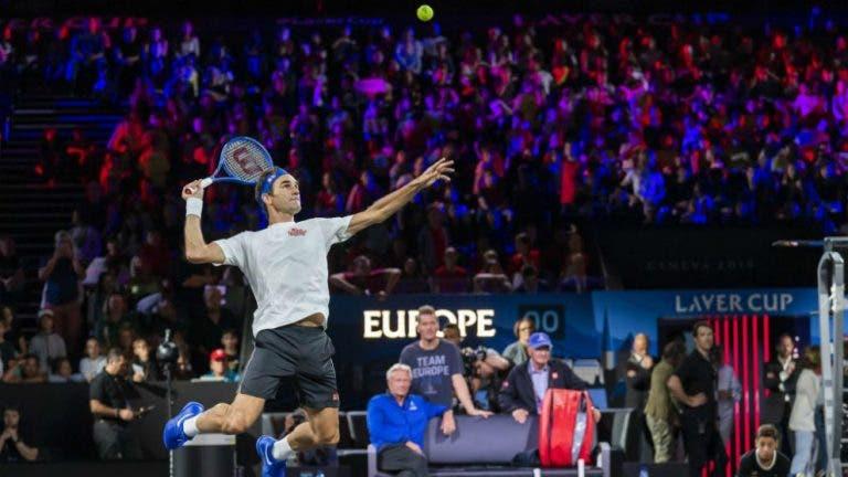 Roger Federer dispuesto a cambiar la fecha de la Laver Cup