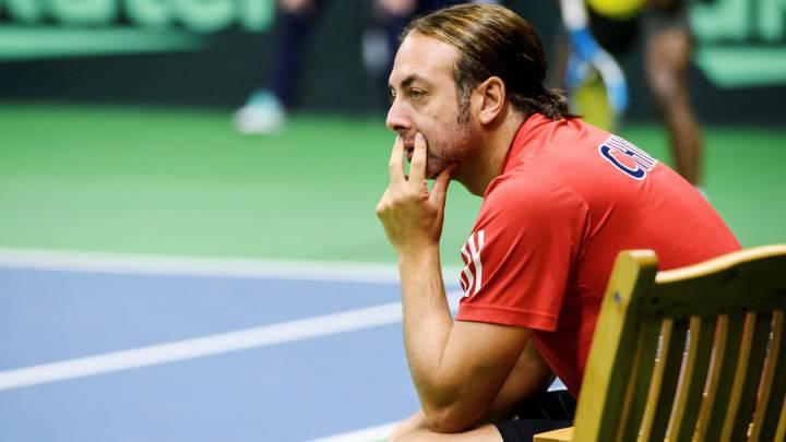 Nicolás Massú desea enfrentar a Eslovaquia en Copa Davis con el equipo completo