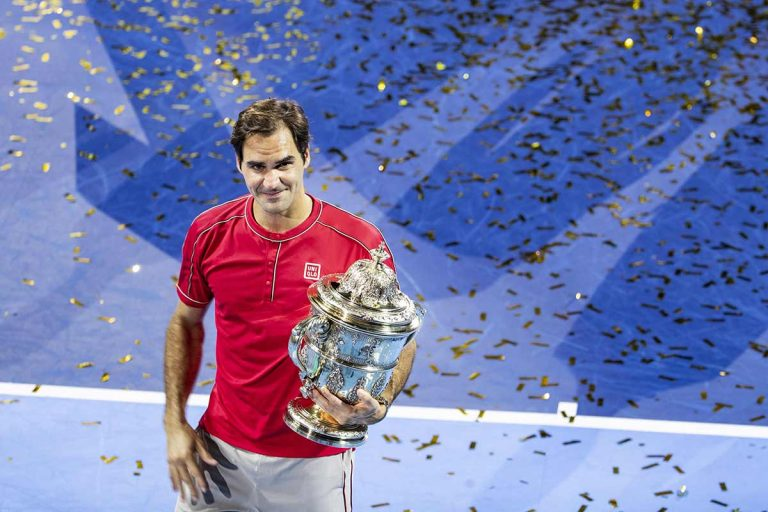 Roger Federer y un sensacional gesto solidario en el ATP de Basilea
