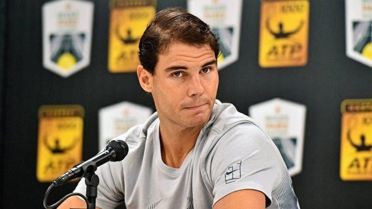 Rafa Nadal y su comunicado luego de la cancelación de Indian Wells